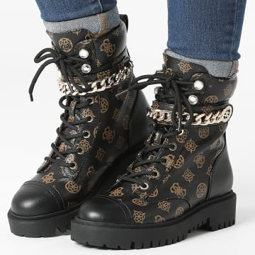Guess - Boots Femme FL8ODYFAL10 Brown Cream
