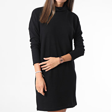 Noisy May - Robe Pull Femme A Manches Longues City Noir