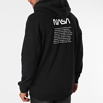 Only And Sons - Sweat Capuche Nasa Life RLX Noir
