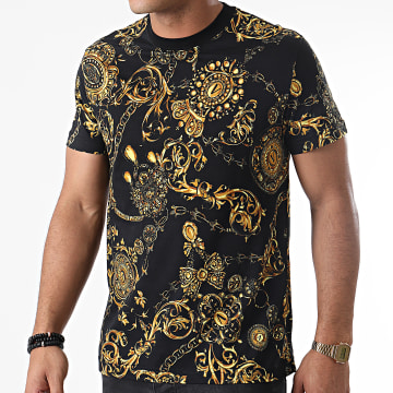 Versace Jeans Couture - Tee Shirt Renaissance 71GAH6S0 Noir