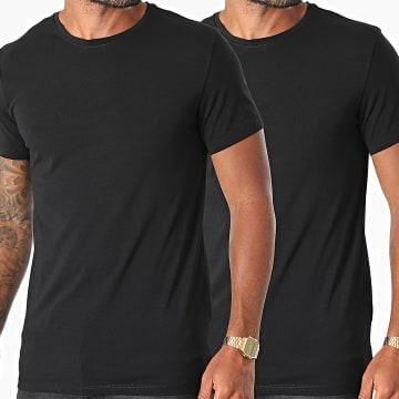 Blend - Lot De 2 Tee Shirts Nick 701877 Noir