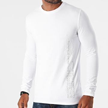 Guess - Tee Shirt Manches Longues M1BI36-J1311 Blanc