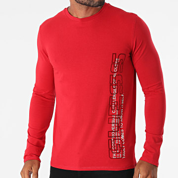 Guess - Tee Shirt Manches Longues M1BI36-J1311 Rouge