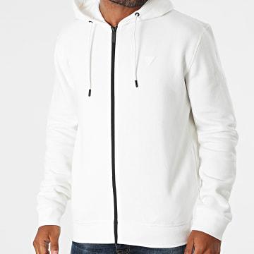 Guess - Sweat Zippé Capuche U1YA03-K9V31 Blanc