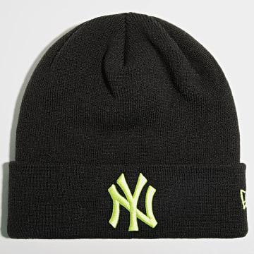 New Era - Bonnet League Essential Cuff 60141711 New York Yankees Noir Jaune