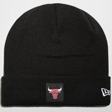 New Era - Bonnet Team Cuff 60141416 Chicago Bulls Noir