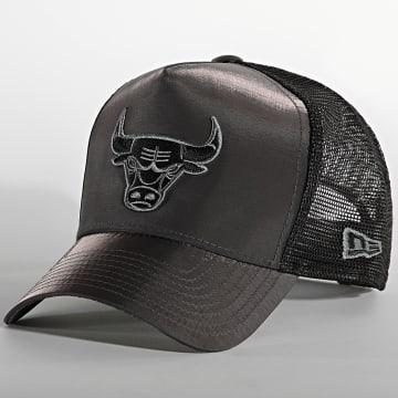 New Era - Casquette Trucker Hypertone 60141501 Chicago Bulls Gris