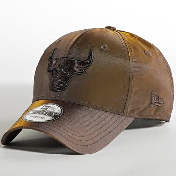 New Era - Casquette 9Forty Hypertone 60141500 Chicago Bulls Marron