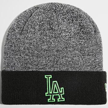 New Era - Bonnet Marl Pop Cuff 60141562 Los Angeles Dodgers Noir Vert