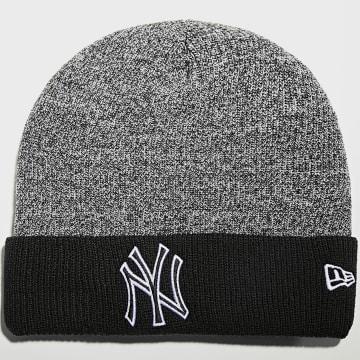 New Era - Bonnet Marl Pop Cuff 60141565 New York Yankees Noir Chiné Blanc