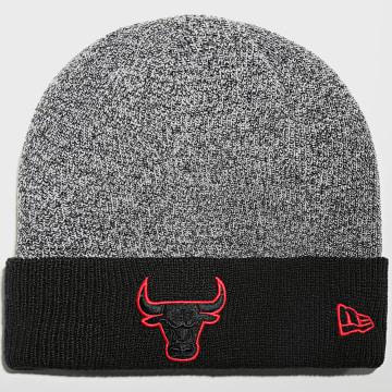 New Era - Bonnet Marl Pop Cuff 60141627 Chicago Bulls Noir Rouge
