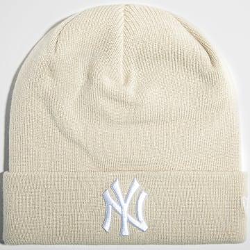 New Era - Bonnet League Essential Cuff 60141694 New York Yankees Beige