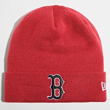 New Era - Bonnet League Essential Cuff 60141707 Boston Red Sox Rouge