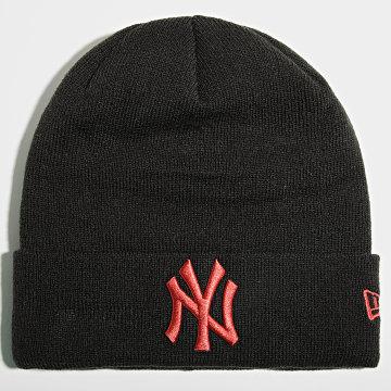 New Era - Bonnet League Essential Cuff 60141713 New York Yankees Noir Orange