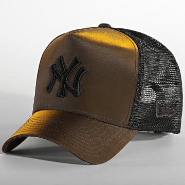 New Era - Casquette Trucker Hypertone 60141783 New York Yankees Marron