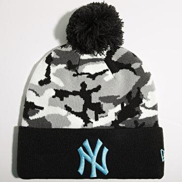 New Era - Bonnet Camo Crown Cuff 60141788 New York Yankees Gris Camouflage