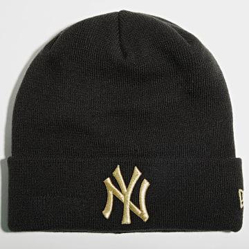 New Era - Bonnet Metallic Logo 60141816 New York Yankees Noir Doré
