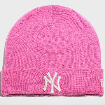 New Era - Bonnet Femme Metallic Logo 60141817 New York Yankees Rose Argenté
