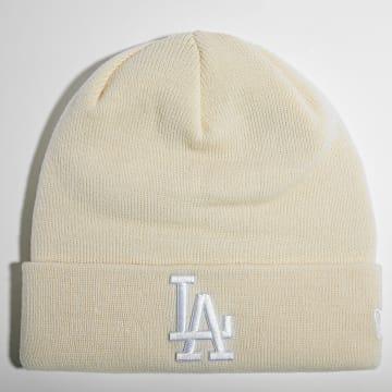 New Era - Bonnet Femme Pop Base Cuff 60141842 Los Angeles Dodgers Beige