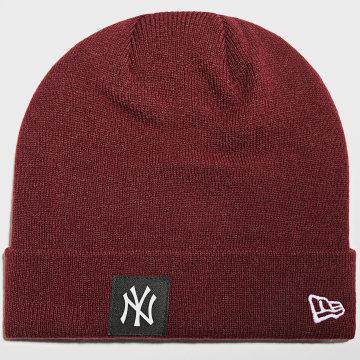 New Era - Bonnet Team Cuff 60141871 New York Yankees Bordeaux