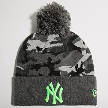 New Era - Bonnet Camo Crown Cuff 60141906 New York Yankees Gris Camouflage