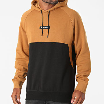 Timberland - Sweat Capuche YC Cut And Sew A22KQ Noir Camel