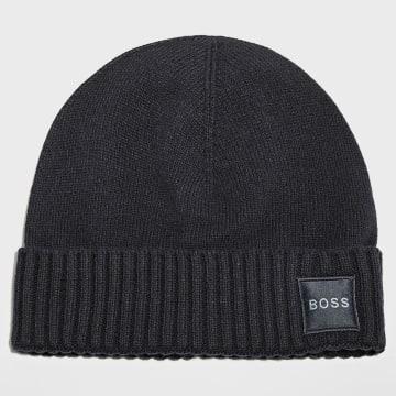 BOSS - Bonnet 50455928 Bleu Marine