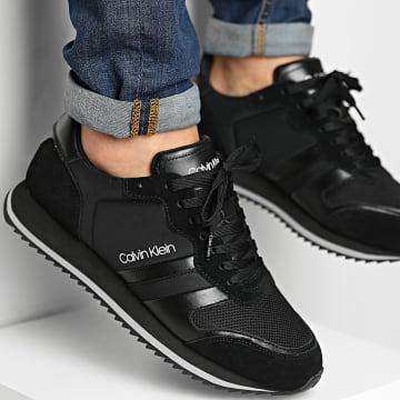 Calvin Klein - Baskets Low Top Lace Up Mix 0315 CK Black