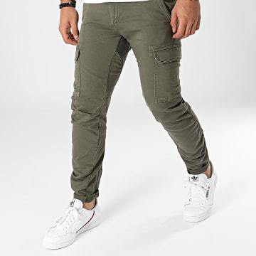 Le Temps Des Cerises - Pantalon Cargo Durbuy Vert Kaki