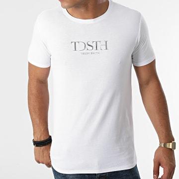 Teddy Smith - Tee Shirt Gabriel Blanc Argenté