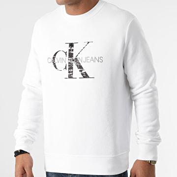Calvin Klein - Sweat Crewneck 9365 Blanc