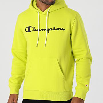 Champion - Sweat Capuche 214743 Jaune