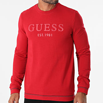 Guess - Sweat Crewneck M1BQ08-K6ZS1 Rouge