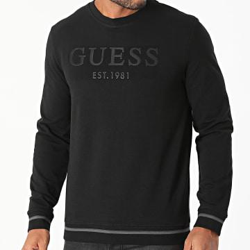 Guess - Sweat Crewneck M1BQ08-K6ZS1 Noir