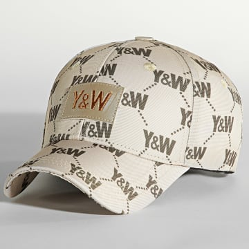 Y et W - Casquette All Over Beige