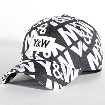 Y et W - Casquette Hunt Noir Blanc
