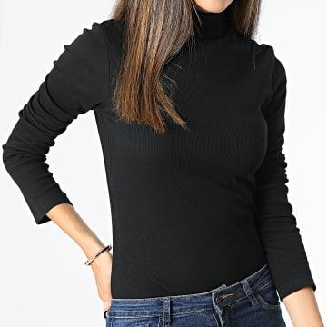 Brave Soul - Tee Shirt Manches Longues Femme Adrian Noir