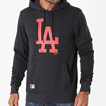 New Era - Sweat Capuche Los Angeles Dodgers 12827237 Noir Rouge