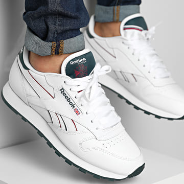 Reebok - Baskets Classic Leather H69219 Footwear White Midnight Pine Punch Berry