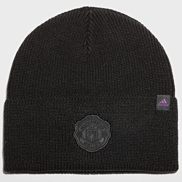 adidas - Bonnet Manchester United GU0115 Noir