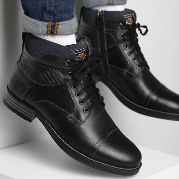 Kaporal - Boots Gustin 40006 Noir