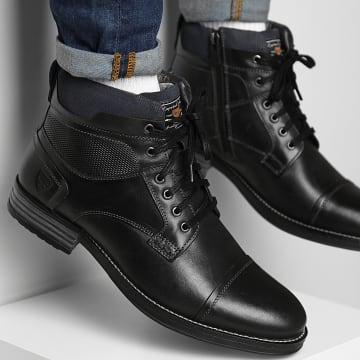 Kaporal - Boots Gustin 40436 Noir