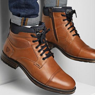 Kaporal - Boots Gustin 40006 Marron