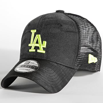 New Era - Casquette Trucker 9Forty Home Field Los Angeles Dodgers Noir Camouflage