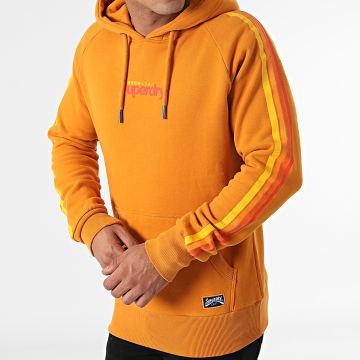 Superdry - Sweat Capuche Cali Raglan Orange