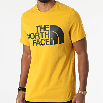 The North Face - Tee Shirt Standard AM7X Jaune Moutarde