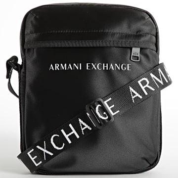 Armani Exchange - Sacoche Reporter Bag 952329-1A809 Noir