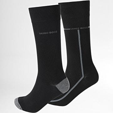 BOSS - Lot De 2 Paires De Chaussettes RS Logo 50452810 Noir