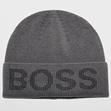 BOSS - Bonnet Nebbiolino 50455707 Gris Anthracite