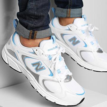 New Balance - Baskets 408 ML408B White Blue